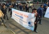 """네팔에서 한 목소리로 외친 """"원 드림 원 아시아"""""""